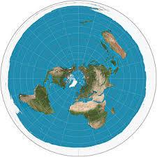 Projeção Azimutal Equidistante Polar Plana